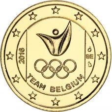 Belgia 2016 2 € Olympialaiset Riossa KULLATTU