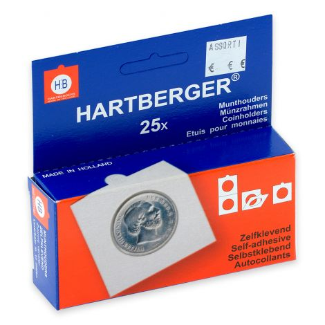 Hartberger EURO Assorti 17,5-39,5 mm tarralla - 25 kpl