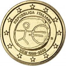 Italia 2009 2 € EMU KULLATTU