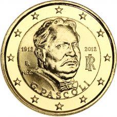 Italia 2012 2 € Giovanni Pascoli KULLATTU