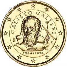 Italia 2014 2 € Galileo Galilei 450v KULLATTU