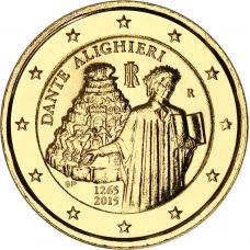 Italia 2015 2 € Dante Alighieri KULLATTU