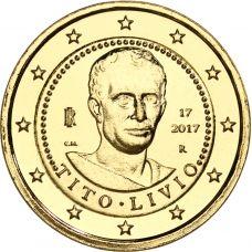 Italia 2017 2 € Titus Livius KULLATTU