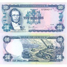 Jamaika 1994 10 Dollars P71e UNC