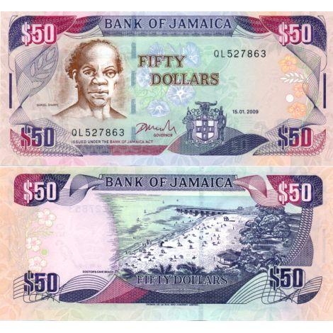 Jamaika 2009 50 Dollars P83d UNC