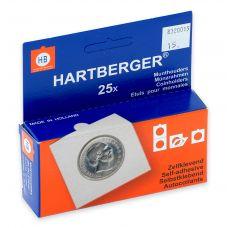 Kolikkokehys, Hartberger 15 mm tarralla - 25 kpl pakkaus