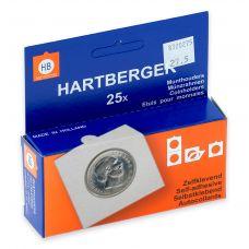 Kolikkokehys, Hartberger 27,5 mm tarralla - 25 kpl pakkaus