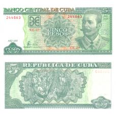 Kuuba 2002 5 Pesos P116e UNC