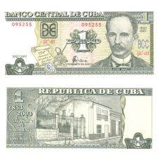 Kuuba 2010 1 Peso P128e UNC