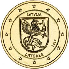Latvia 2017 2 € Latgale KULLATTU