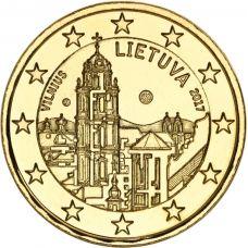 Liettua 2017 2 € Vilna KULLATTU