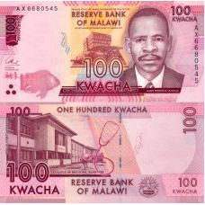 Malawi 2016 100 Kwacha P65b UNC