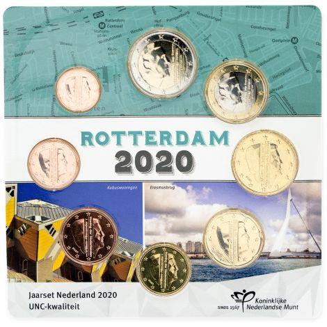 Alankomaat 2020 Rahasarja Rotterdam UNC