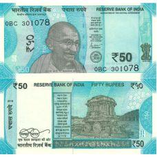 Intia 2019 50 Rupees P111h UNC