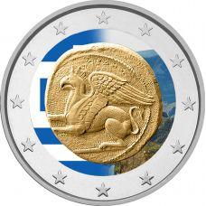 Kreikka 2020 2 € Traakia #2 VÄRITETTY