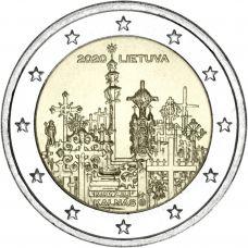 Liettua 2020 2 € Ristikukkula UNC