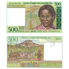 Madagaskar 1994 500 Francs P75b UNC
