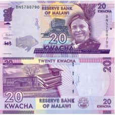 Malawi 2019 20 Kwacha P63e UNC