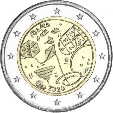 Malta 2020 2 € Games MdP UNC