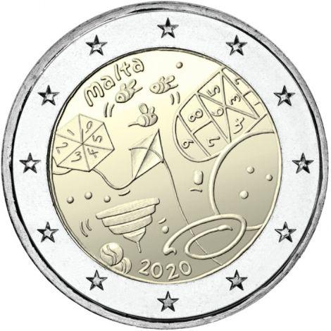 Malta 2020 2 € Games UNC