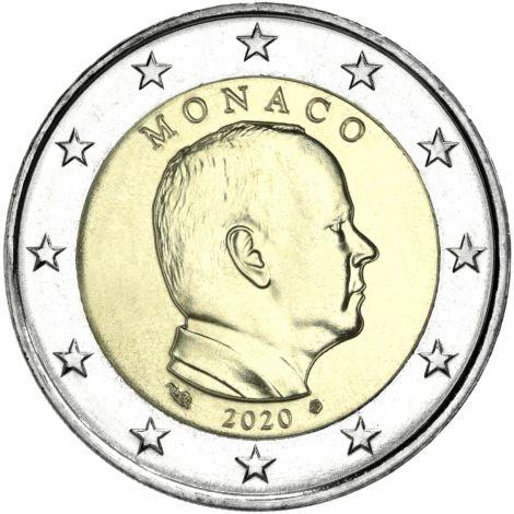 Monaco 2020 2 € UNC