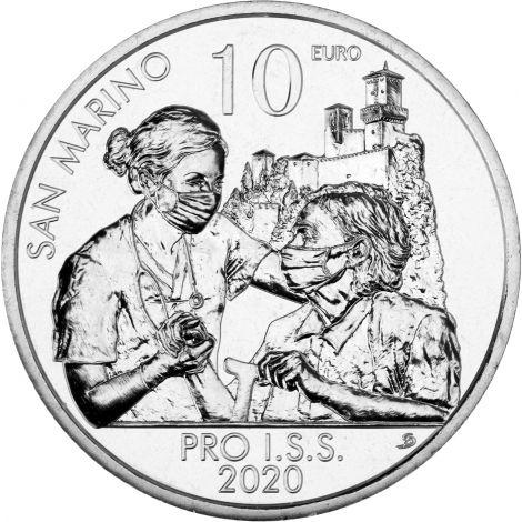 San Marino 2020 10 € Pro I.S.S. BU