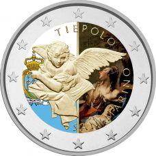 San Marino 2020 2 € Tiepolo #2 VÄRITETTY