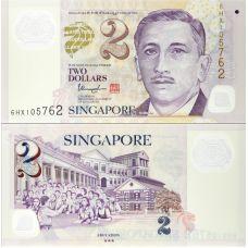 Singapore 2020 2 Dollars P46l UNC