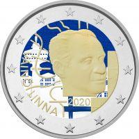 Suomi 2020 2 € Väinö Linna 100 vuotta #2 VÄRITETTY