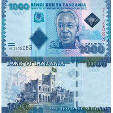 Tansania 2019 1000 Shillings P41c UNC