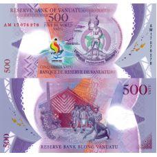 Vanuatu 2017 500 Vatu P20 UNC