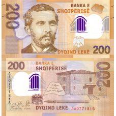 Albania 2017 200 Leke P76 UNC