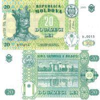 Moldova 2005 20 Lei P13f UNC
