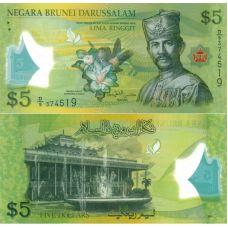 Brunei 2011 5 Ringgit P36 UNC