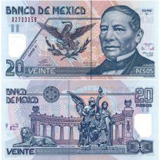 Meksiko 2003 20 Pesos P116d-1 UNC