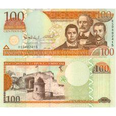 Dominikaaninen tasavalta 2006 100 Pesos Oro P177a UNC