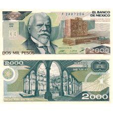 Meksiko 1987 20 Pesos P86b-CW UNC