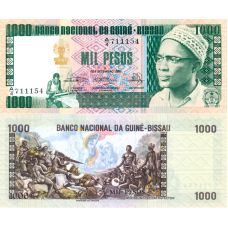 Guinea-Bissau 1978 1000 Pesos P8b UNC