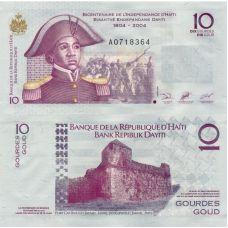 Haiti 2004 10 Gourdes P272a UNC