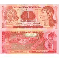Honduras 2010 1 Lempira P89b UNC