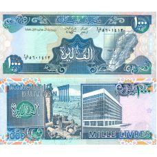 Libanon 1988 1000 Livres P69a UNC