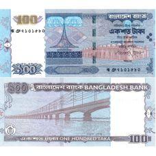 Bangladesh 2009 100 Taka P49f UNC