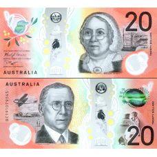 Australia 2019 20 Dollars P64a UNC
