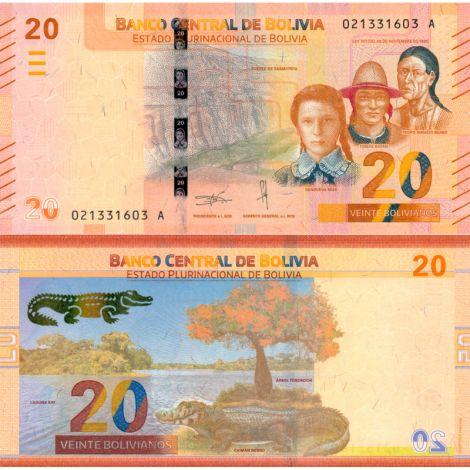 Bolivia 2018 10 Bolivianos P249 UNC