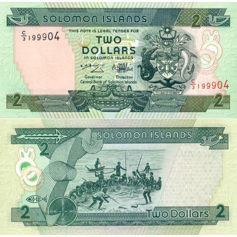 Salomonsaaret 1997 2 Dollars P18 UNC