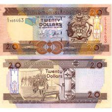Salomonsaaret 2004 20 Dollars P28a UNC