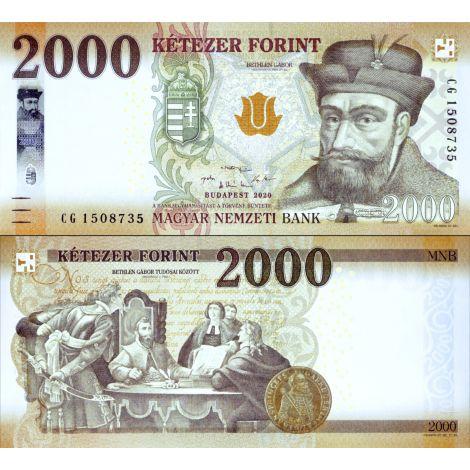 Unkari 2020 2000 Forint P204c UNC