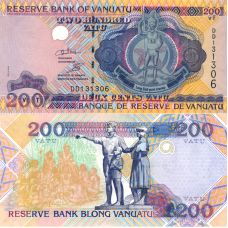 Vanuatu 1995 200 Vatu P8c UNC