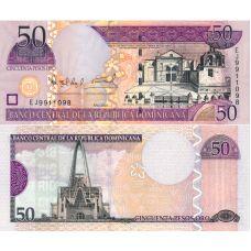 Dominikaaninen tasavalta 2004 50 Pesos Oro P170c UNC