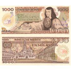 Meksiko 1985 1000 Pesos P85-YE UNC